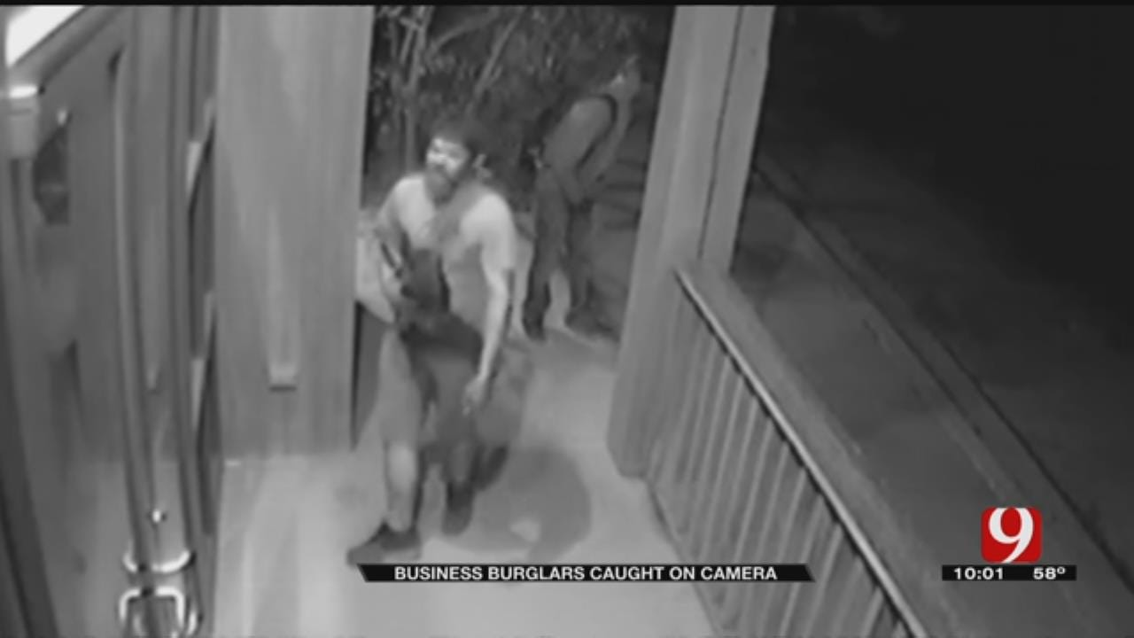 Caught On Camera: Three Suspects Steal From Norman Business