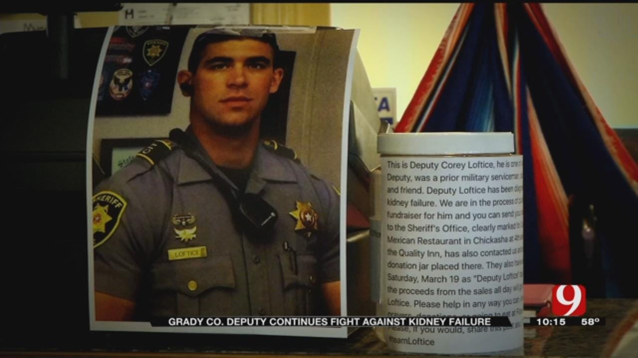 Grady Co. Deputy Continues Fight Against Kidney Failure