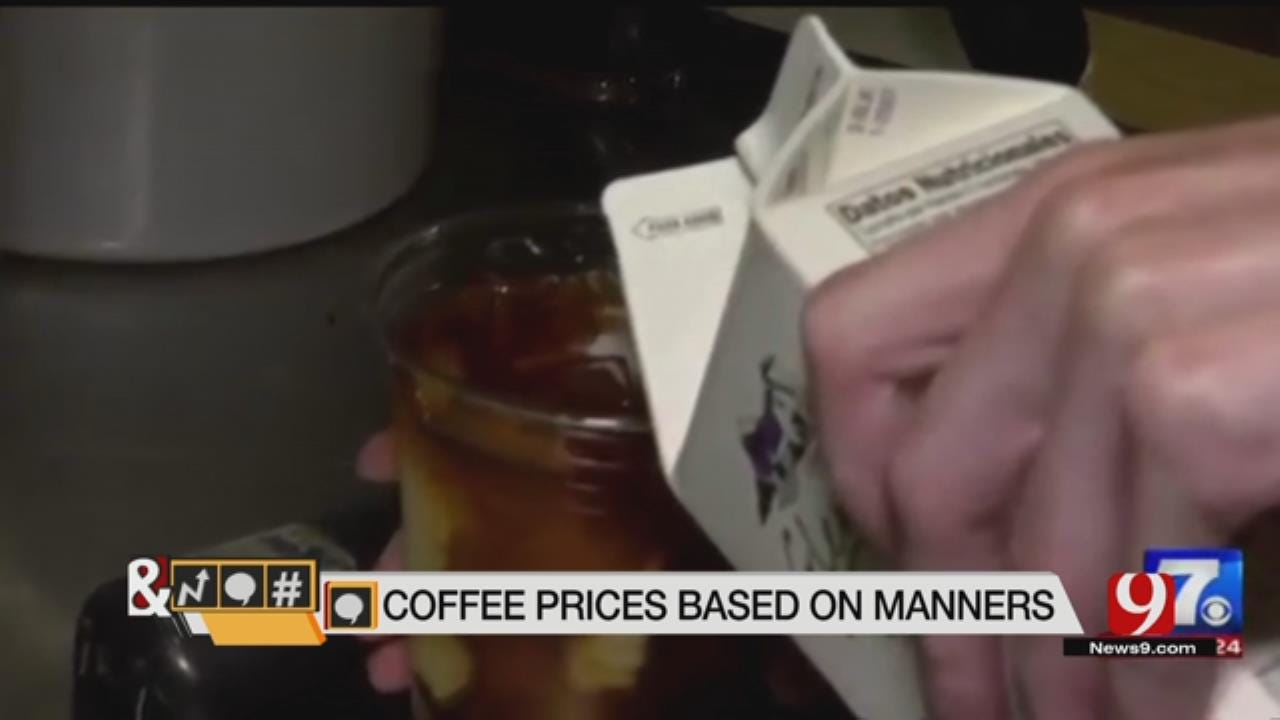 Trends, Topics & Tags: Coffee Prices Based On Manners