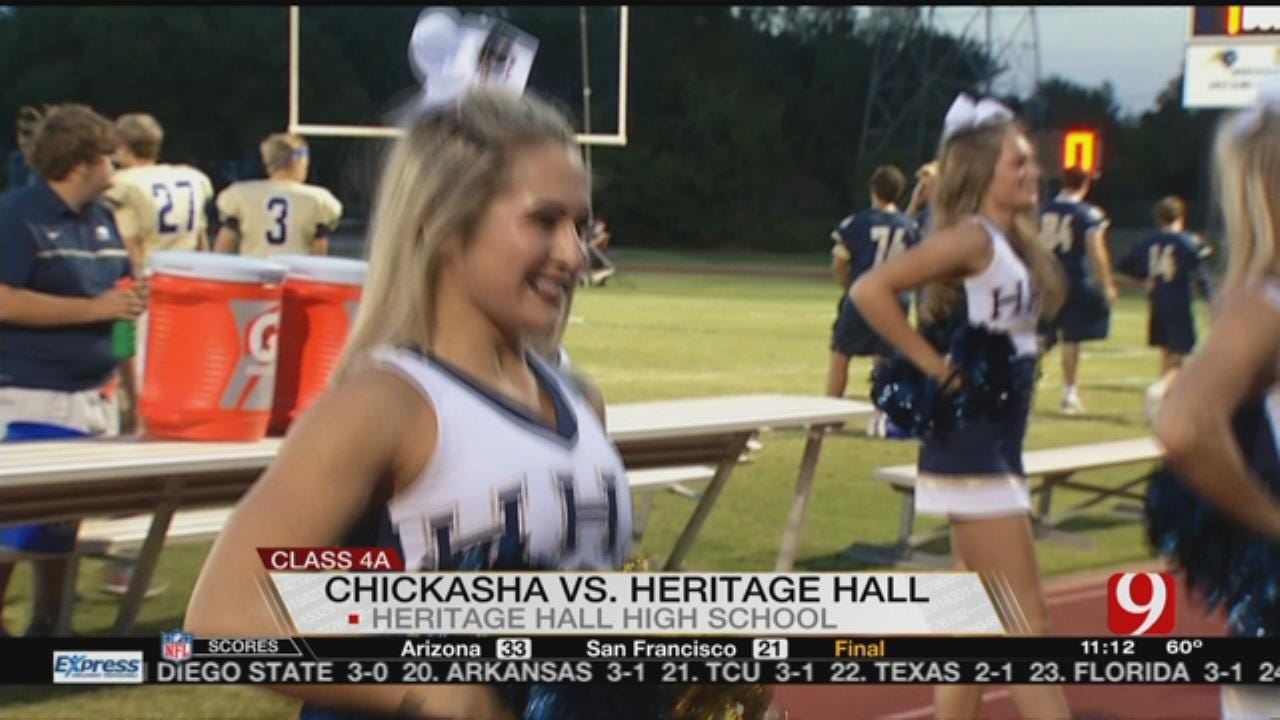 Heritage Hall Beats Chickasha, 56-20