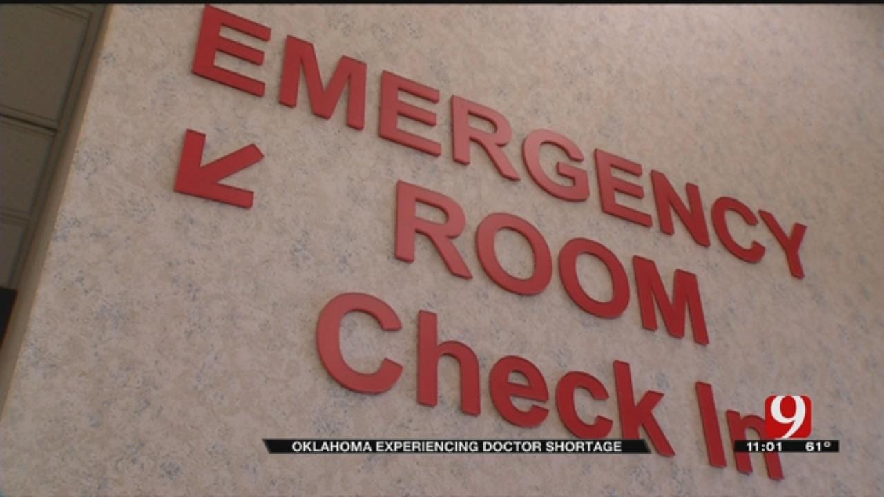 Oklahoma Faces Large Doctor Shortage