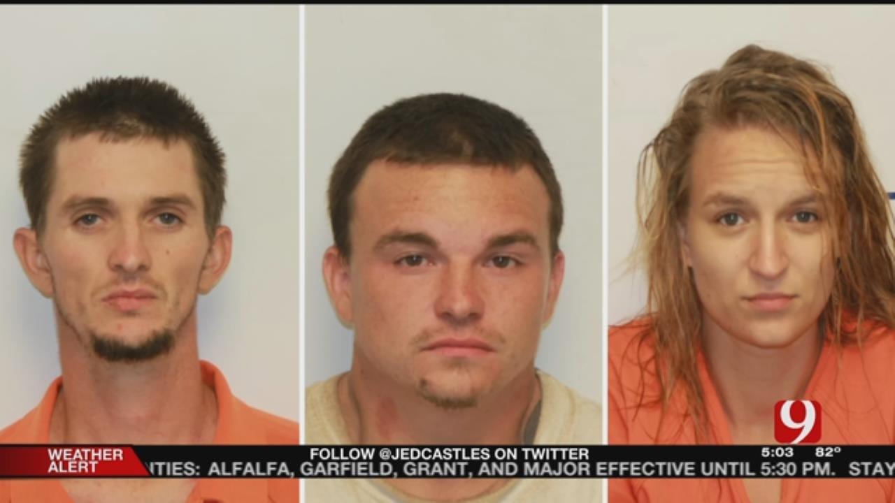 Three Arrested For Burglary, Killing Family Dog