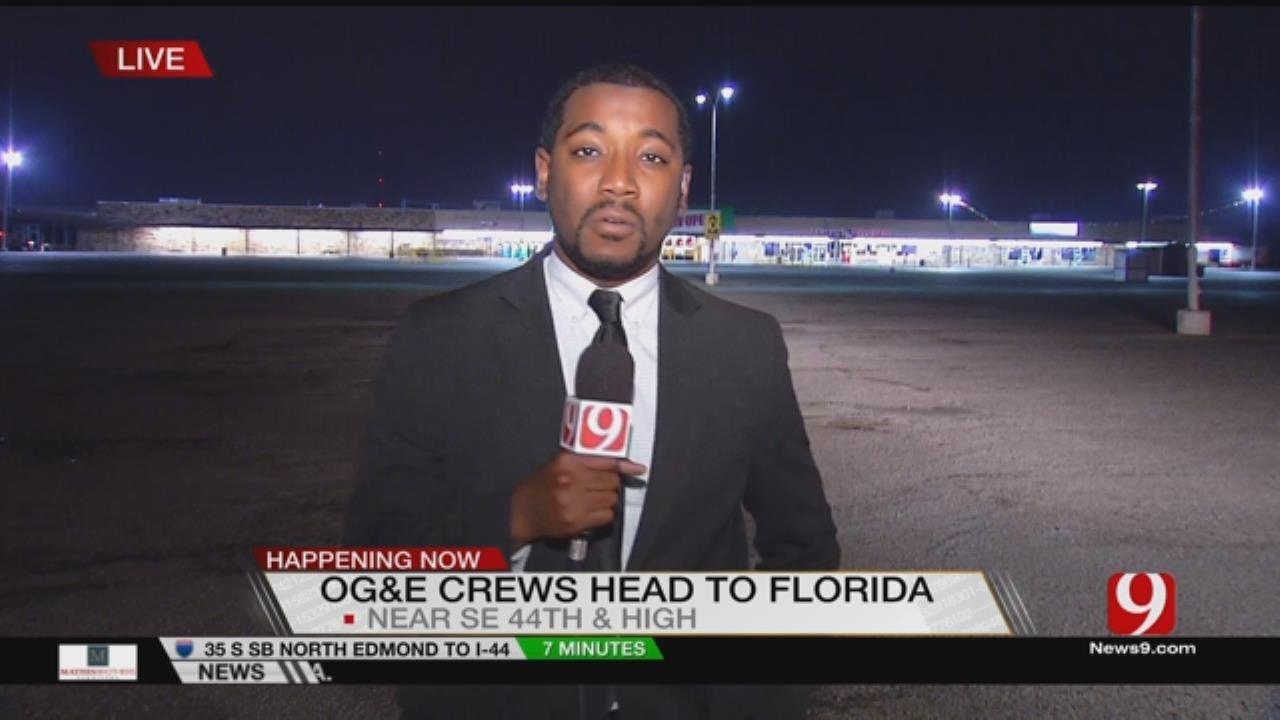 OG&E Offers Helping Hand To Southeast Coast
