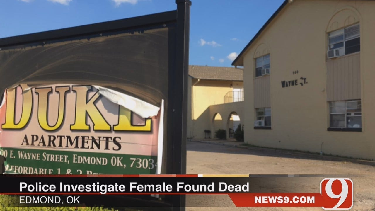 WEB EXTRA: Police Investigating After Woman Found Dead In Edmond Apartment