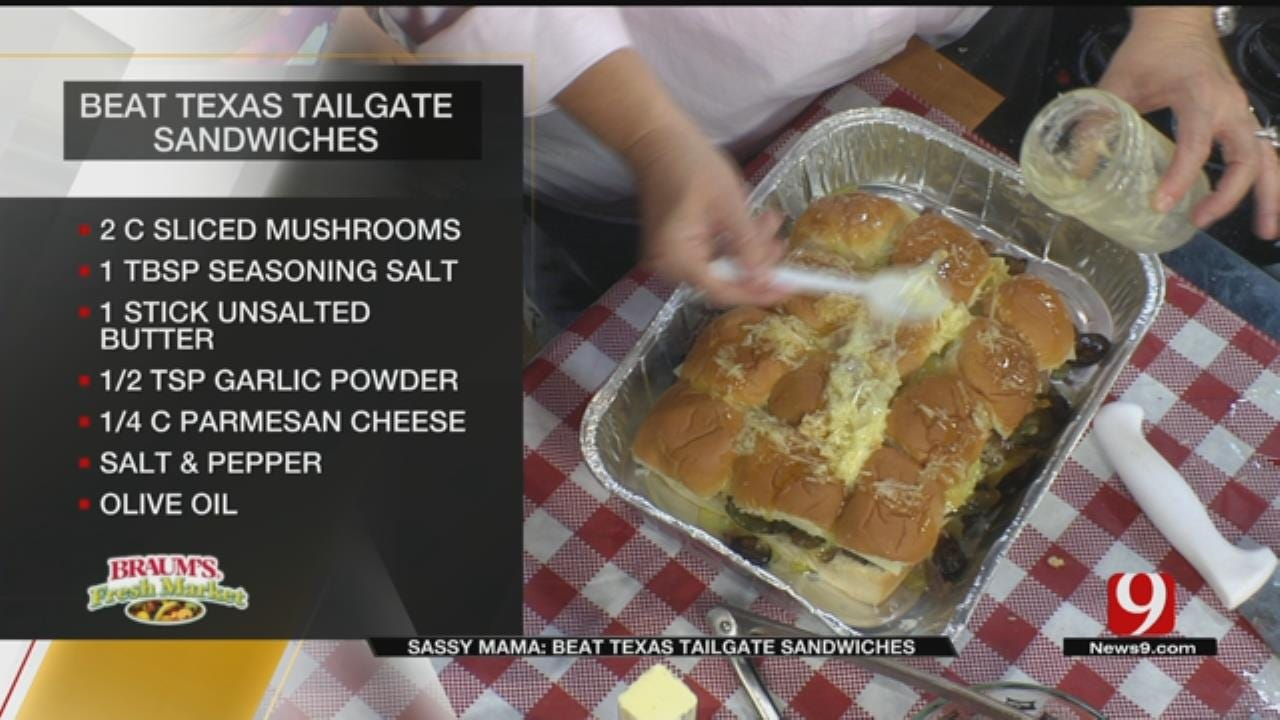 Beat Texas Tailgate Sandwiches