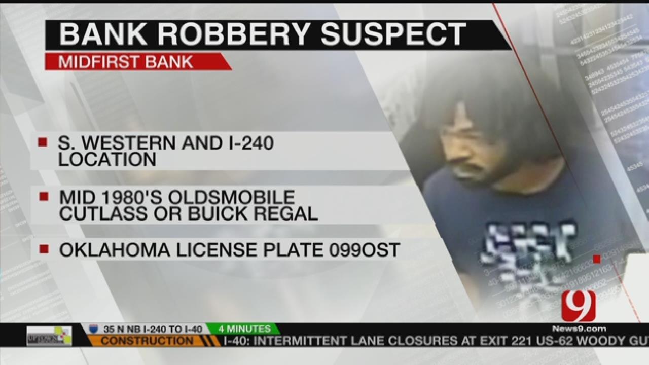 FBI Releases Description Of Bank Robber