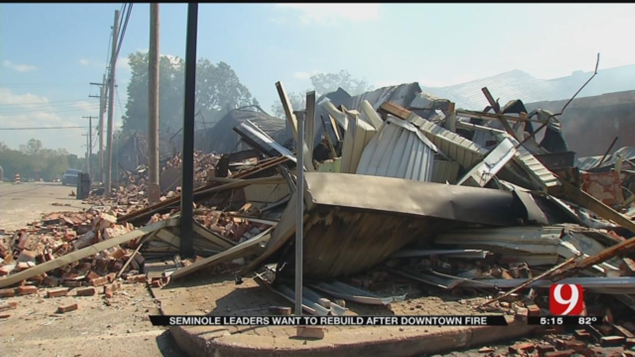 Seminole Community Looks To Rebuild After Devastating Fire