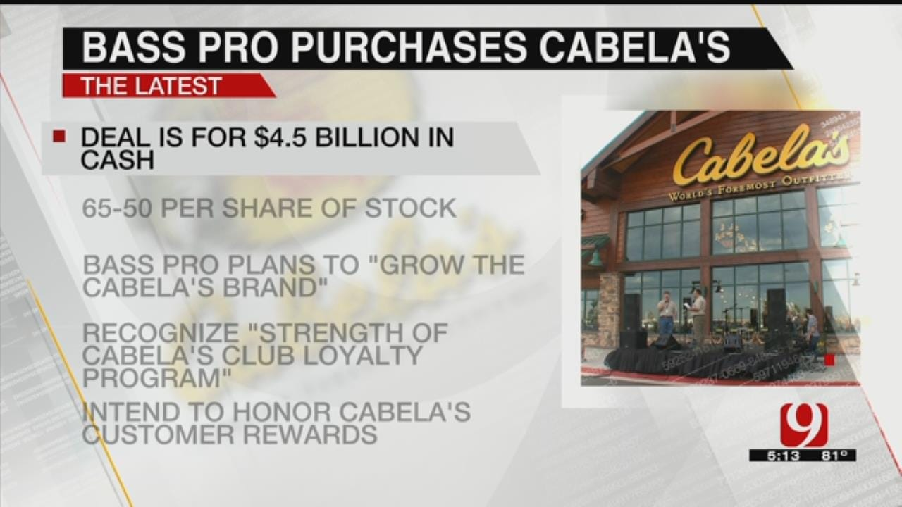 Bass Pro Shops To Buy Cabela's In $5.5 Billion Deal