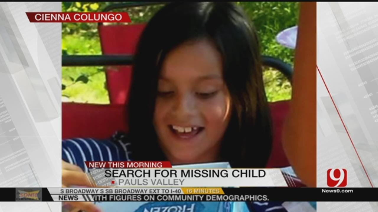 Authorities Search For Missing 8-Year-Old Girl