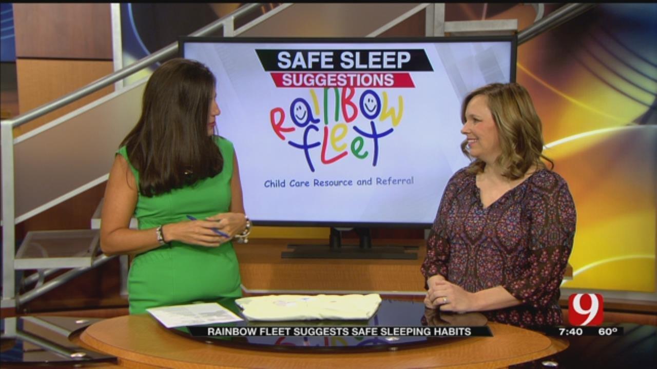 Rainbow Fleet Suggests Safe Sleeping Habits