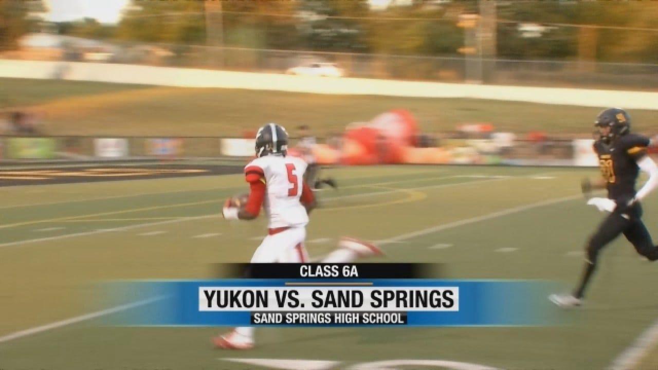 Sand Springs Drill Yukon On Friday Night