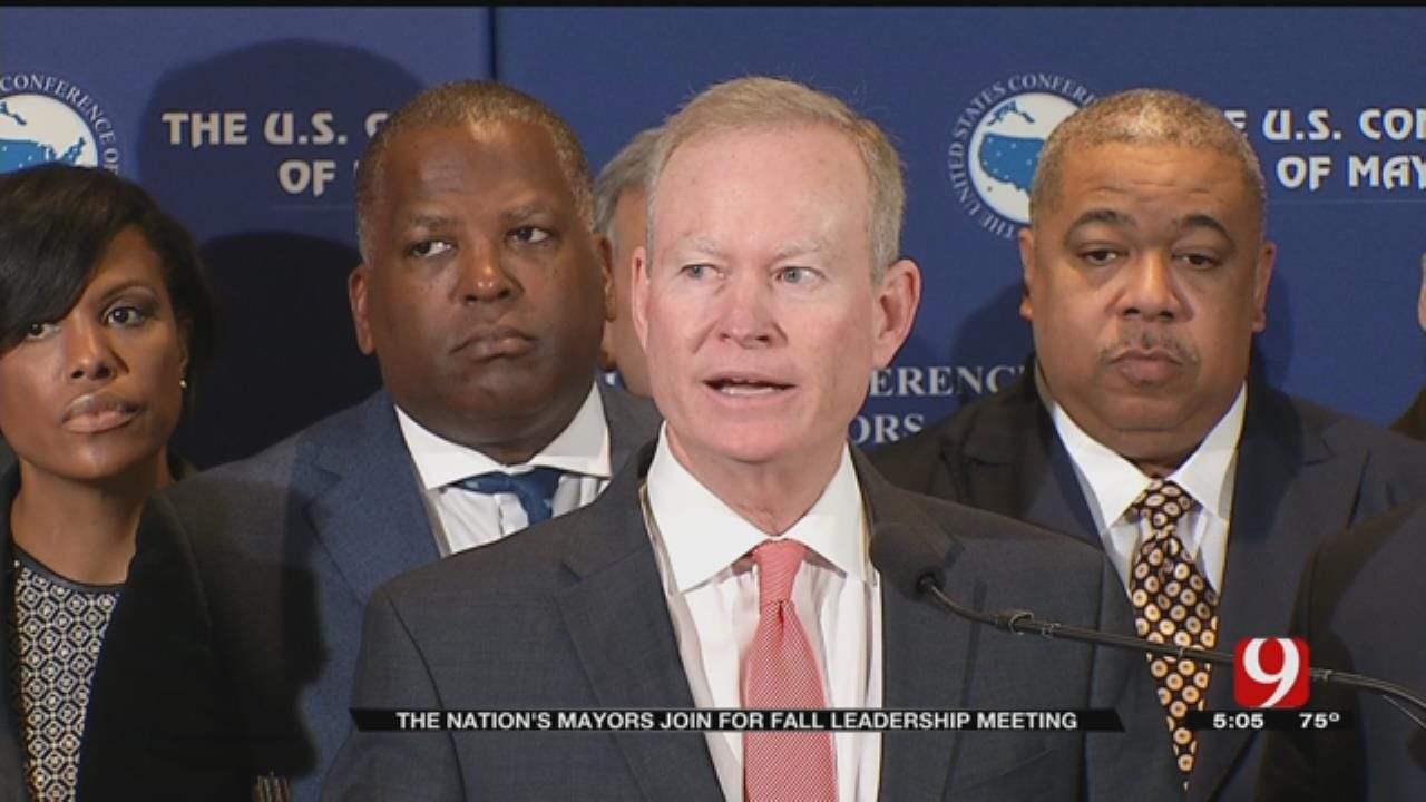 Nation's Mayors Join For Fall Leadership Meeting In OKC
