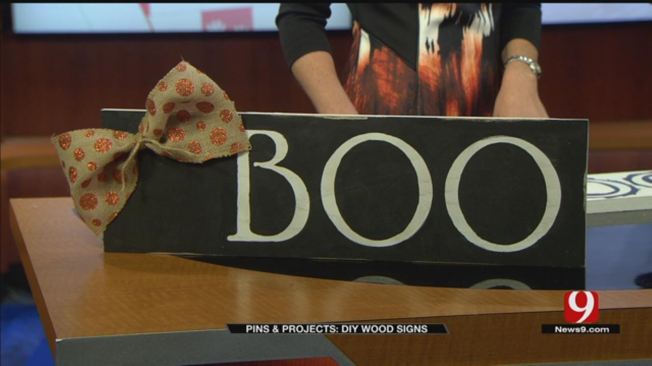 Pins & Projects: DIY Wood Signs