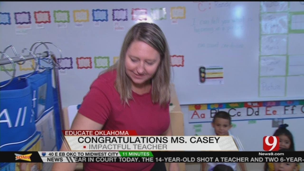 Impactful Teacher: Jennifer Casey