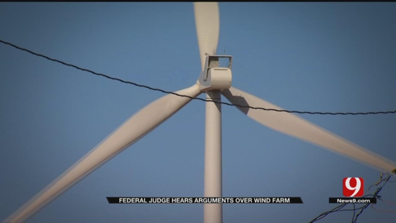 Federal Judge Hears Arguments Over Wind Farm Near Okarche