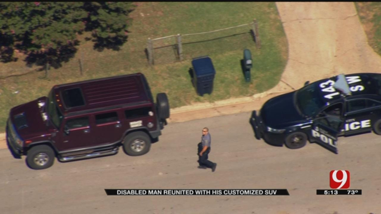 Police: Thief Steals Vehicle From Luther Man With Special Needs