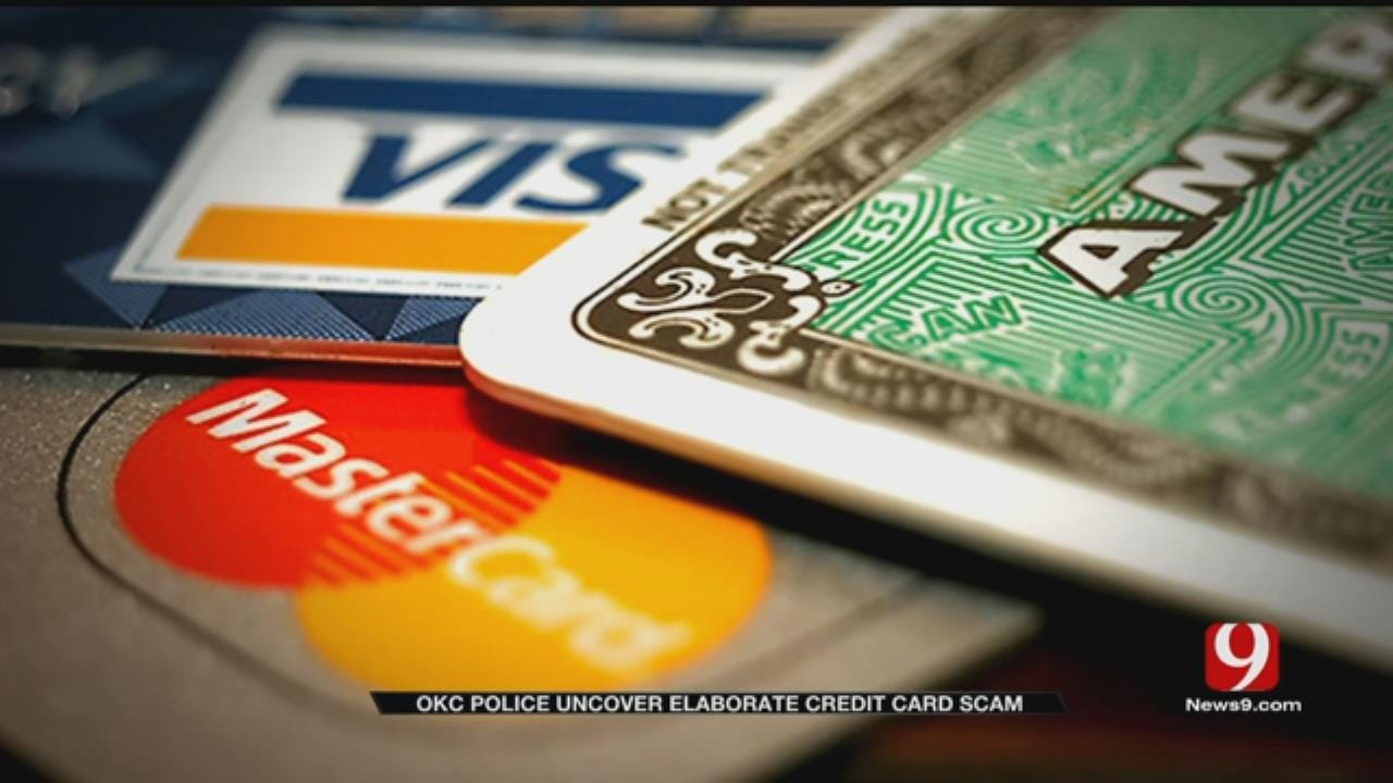 OKC Police Uncover Elaborate Credit Card Scam