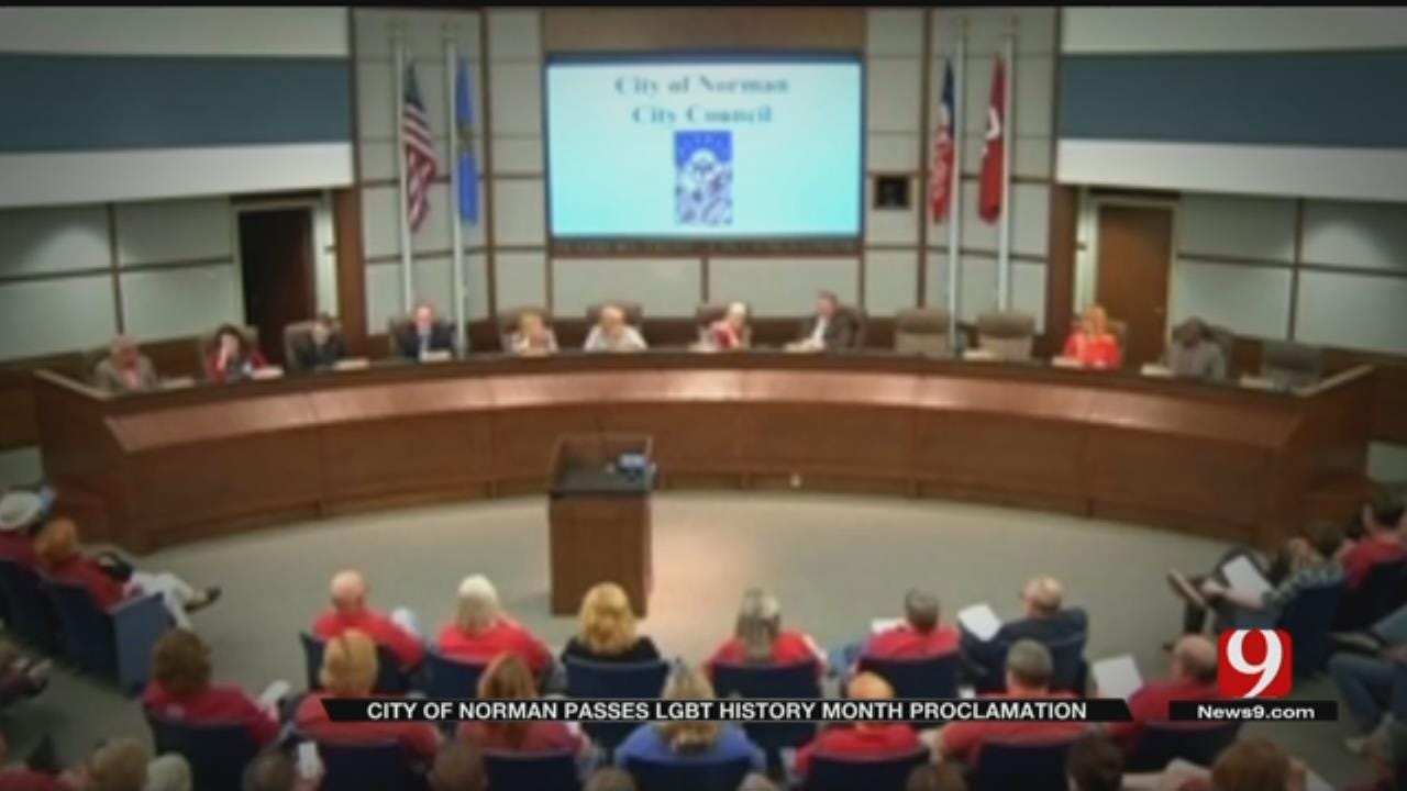 City Of Norman Passes LGBT History Month Proclamation