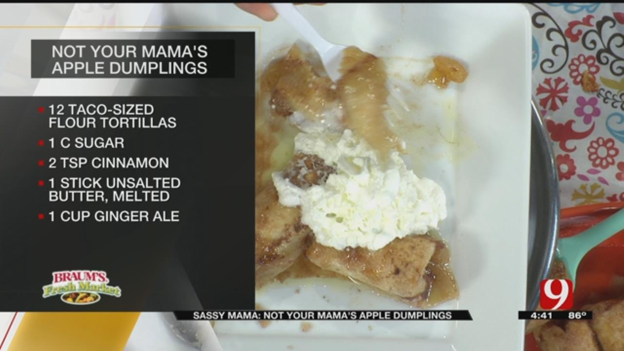 Not Your Mamas Apple Dumplings