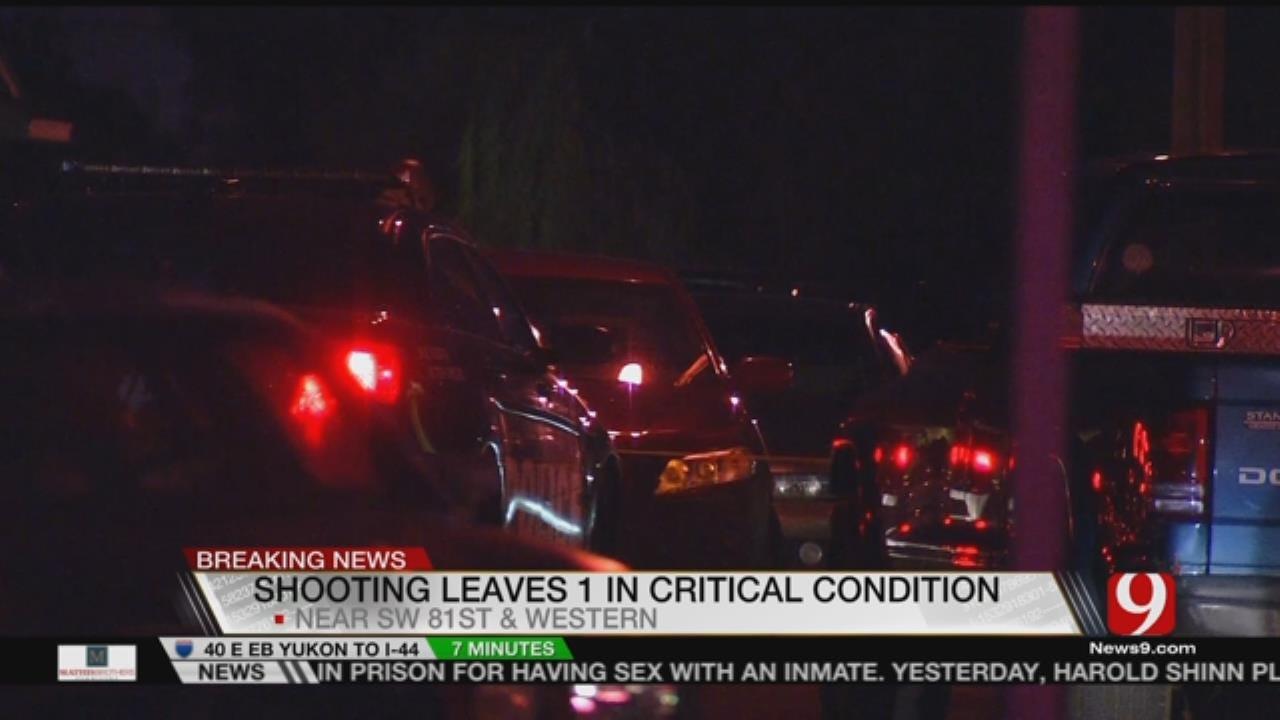 Man Critical After Multiple Gunshot Wounds In SW OKC