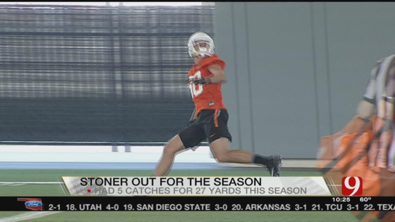 OSU's Stoner Out For Season