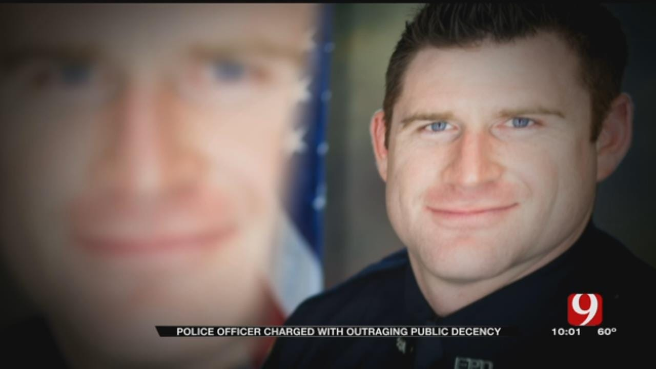 Edmond Police Officer Charged With Outraging Public Decency