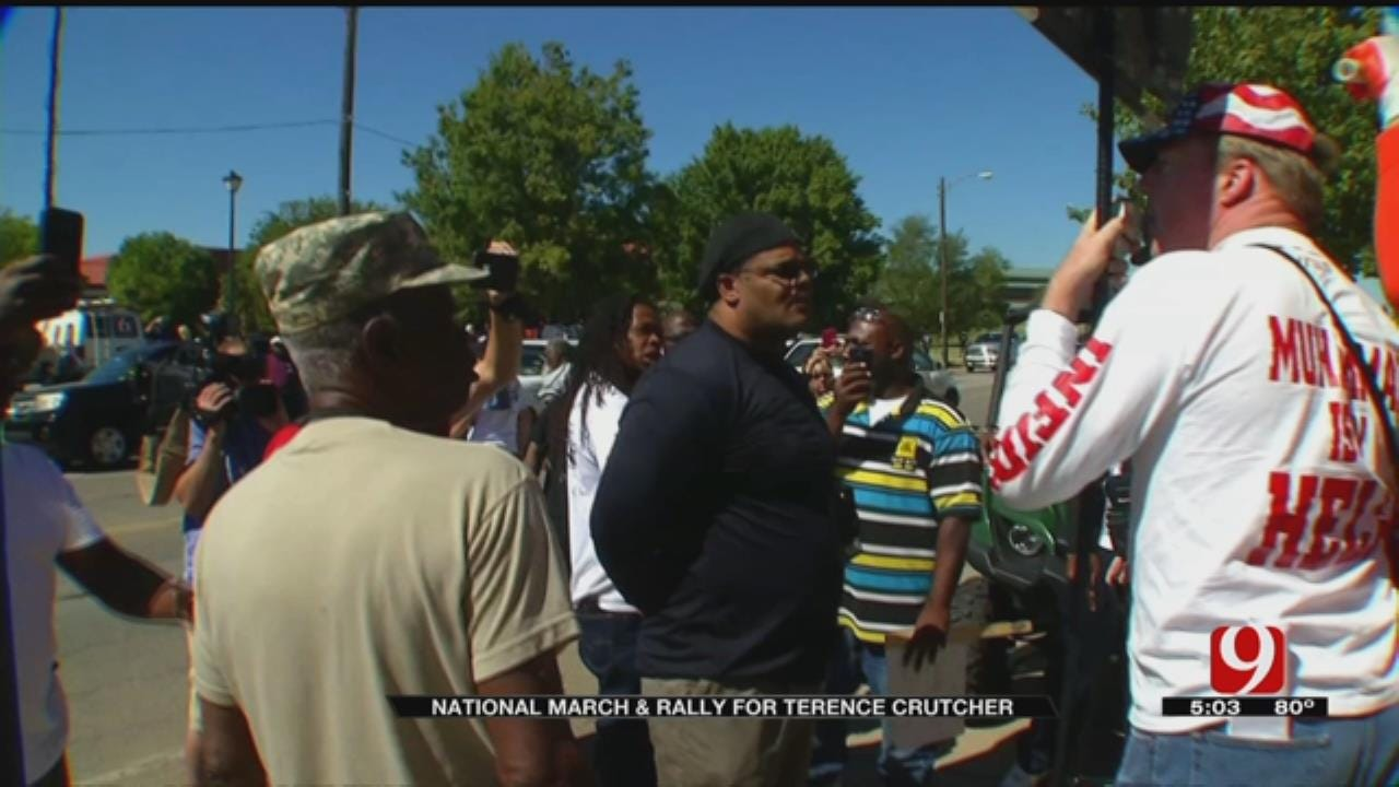 Hate Groups Turn Out To Counter Protest Peaceful Tulsa March