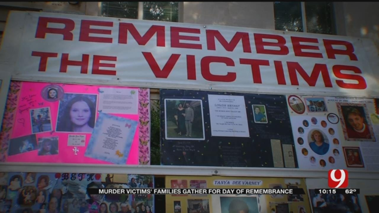 Homicide Victims' Families Gather For Day Of Remembrance