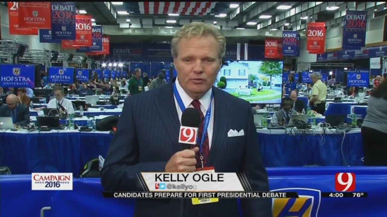 News 9's Kelly Ogle Among Hundreds Of Journalists In Place For Debate