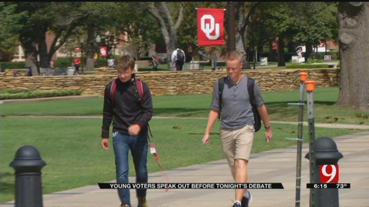 OU Students Speak Out Before Candidates Face Off In First Presidential Debate