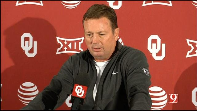 WATCH: Bob Stoops News Conference