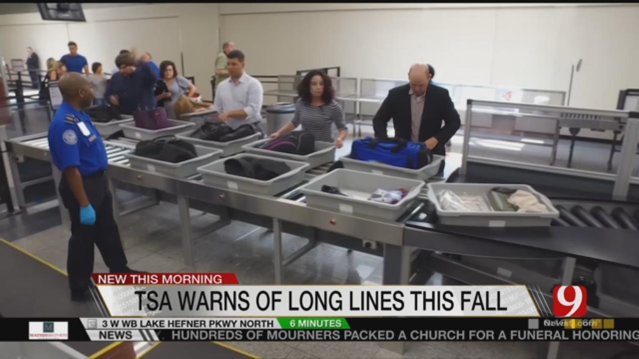 TSA Waiting On Congress To Pass Budget