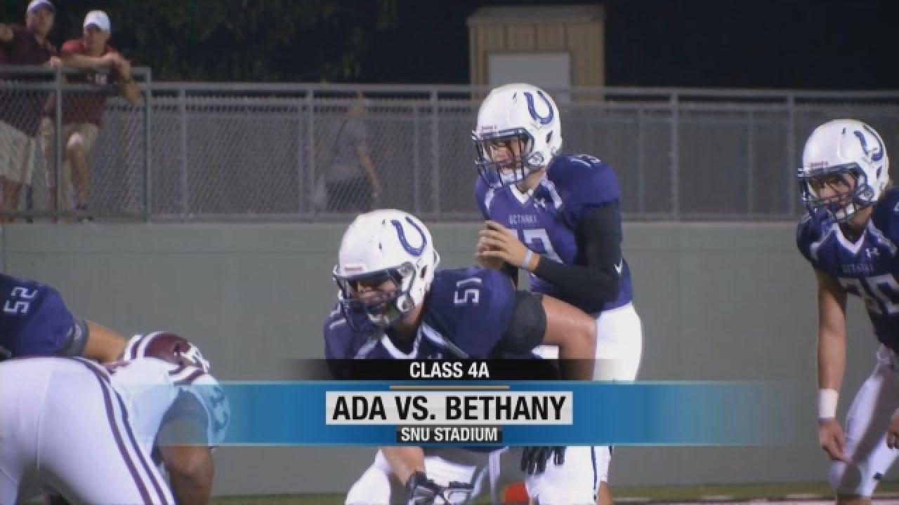 High School Highlights: Bethany Vs. Ada