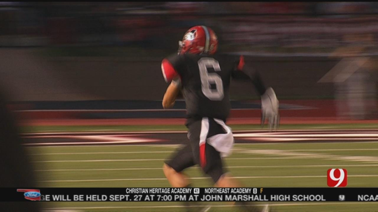 Mustang Finishes Strong To Beat Owasso