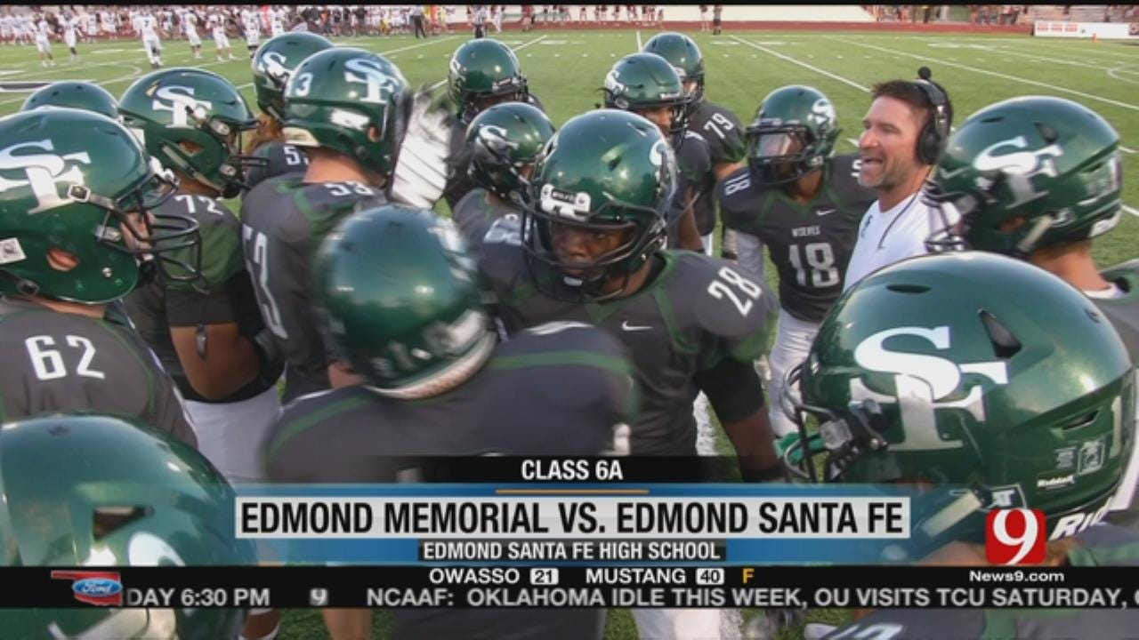 Edlam: Edmond Santa Fe Rolls Over Edmond Memorial