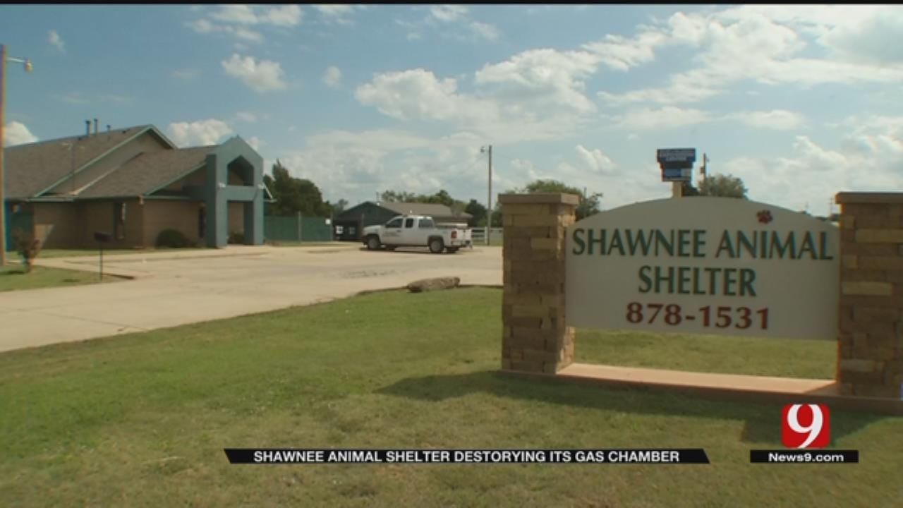 Shawnee Animal Shelter Destroying Its Gas Chamber
