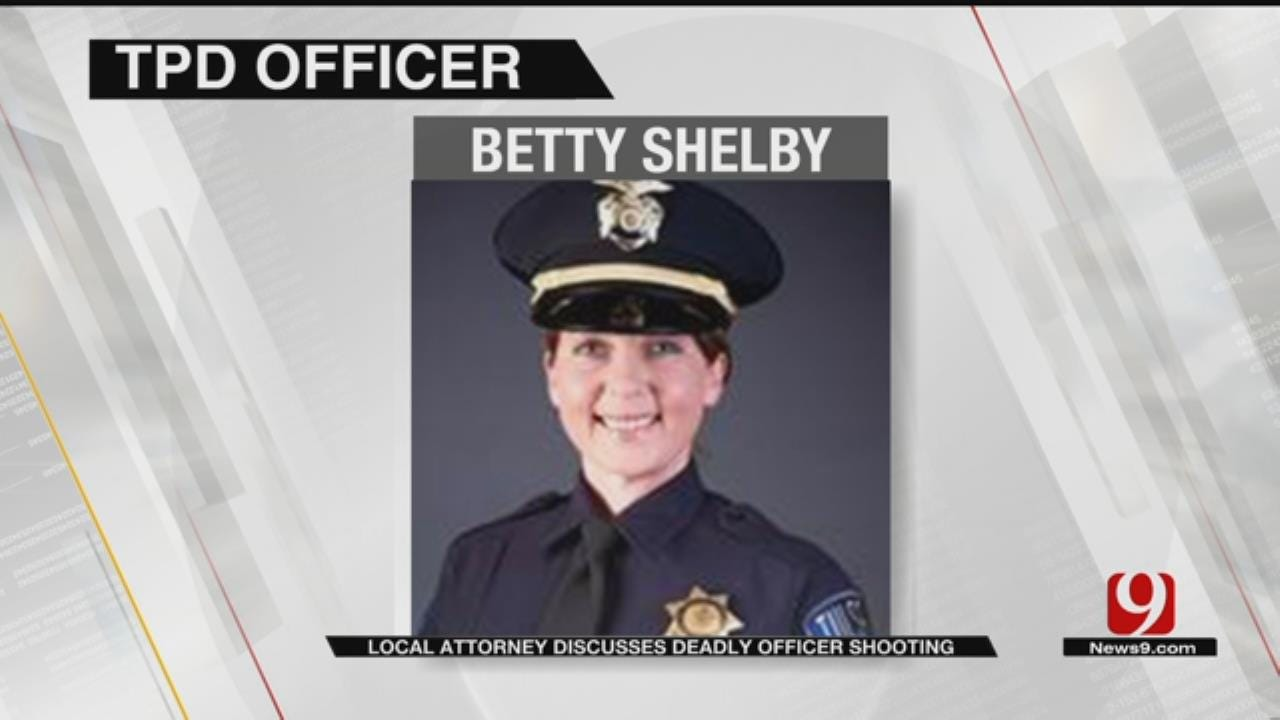 Local Attorney Offers Defense Theory For Tulsa Police Officer