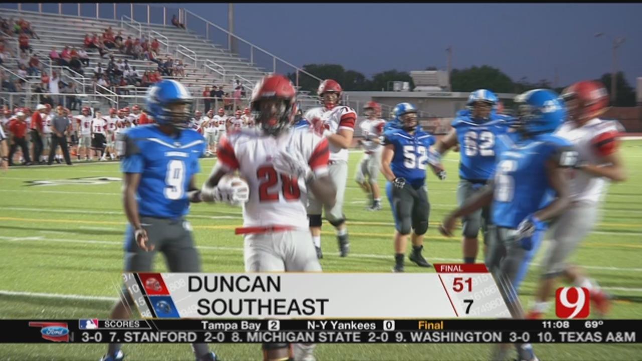 Duncan Beats Southeast, 51-7