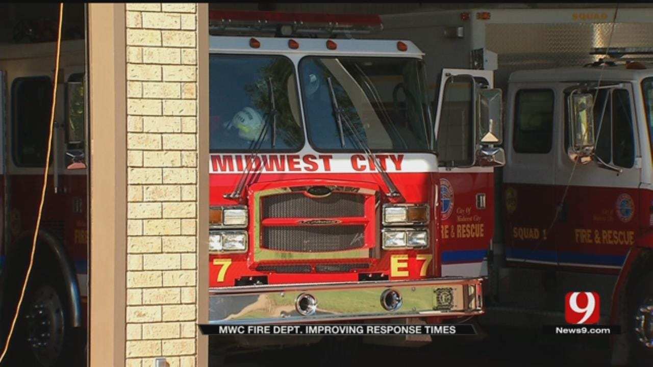 MWC Fire Department Working To Improve Response Times
