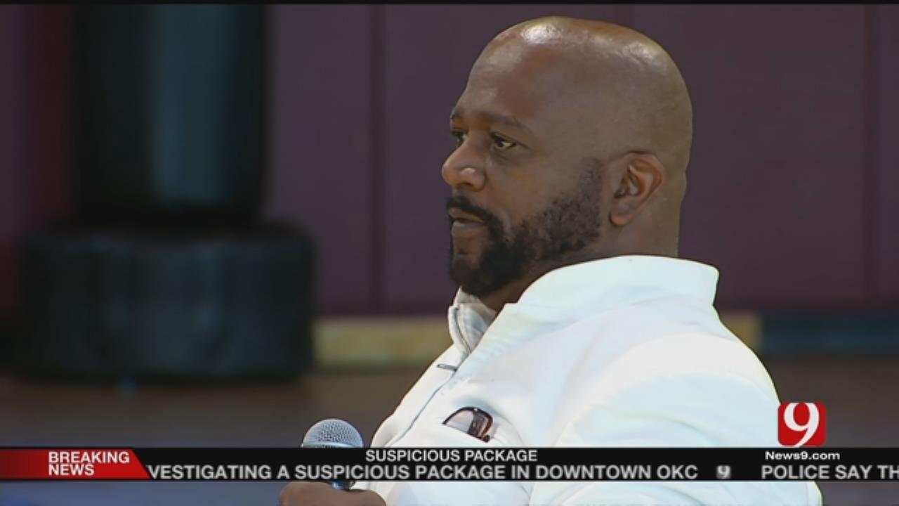 Former Gang Leader Speaks To Kids In OKC