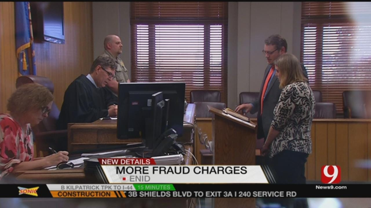 Enid Woman Adds To Long List Of Fraud Charges