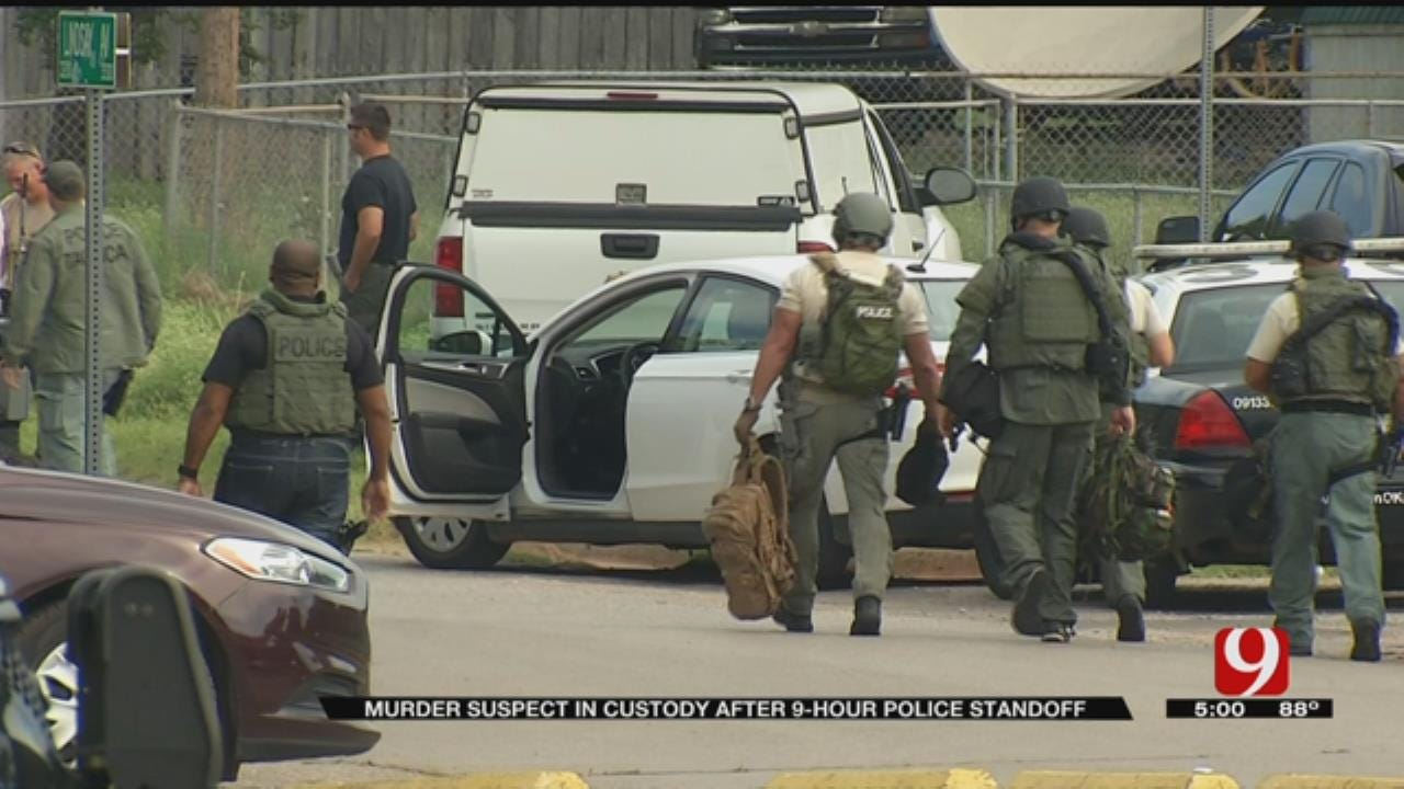 Standoff In SE OKC Ends With Suspect In Custody