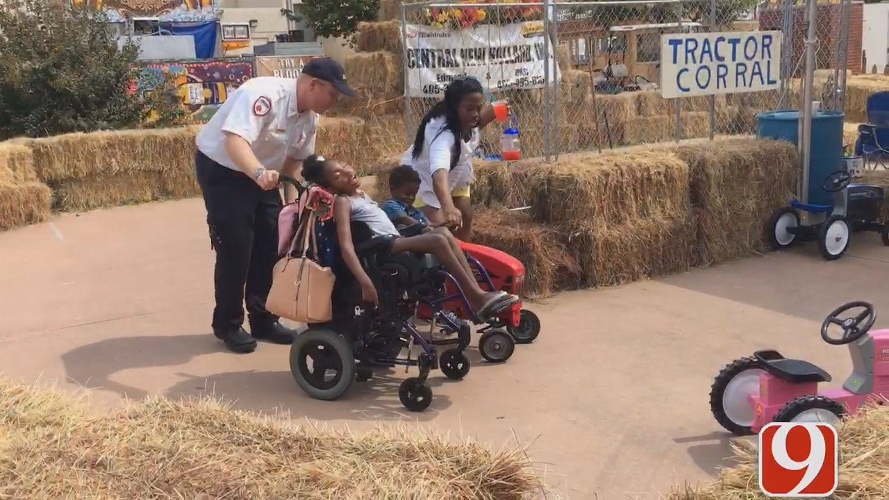 EMSA Takes Special Needs Child To The State Fair