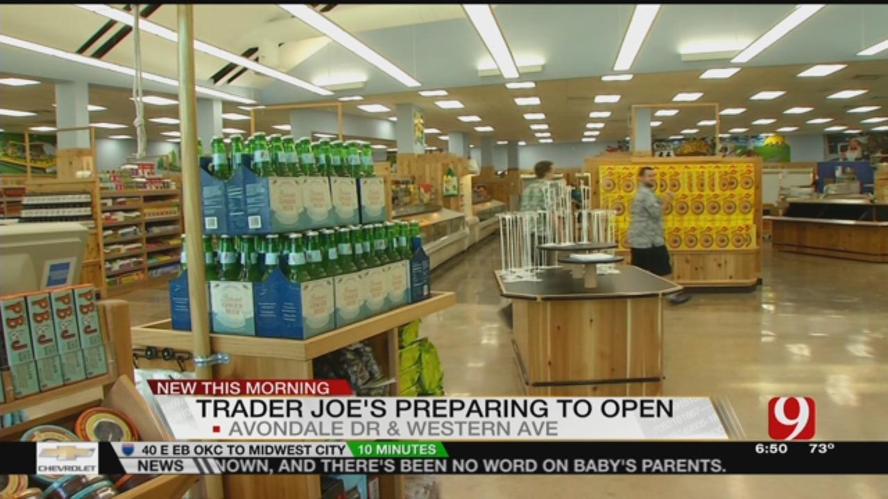 News 9 Previews OKC Trader Joe's