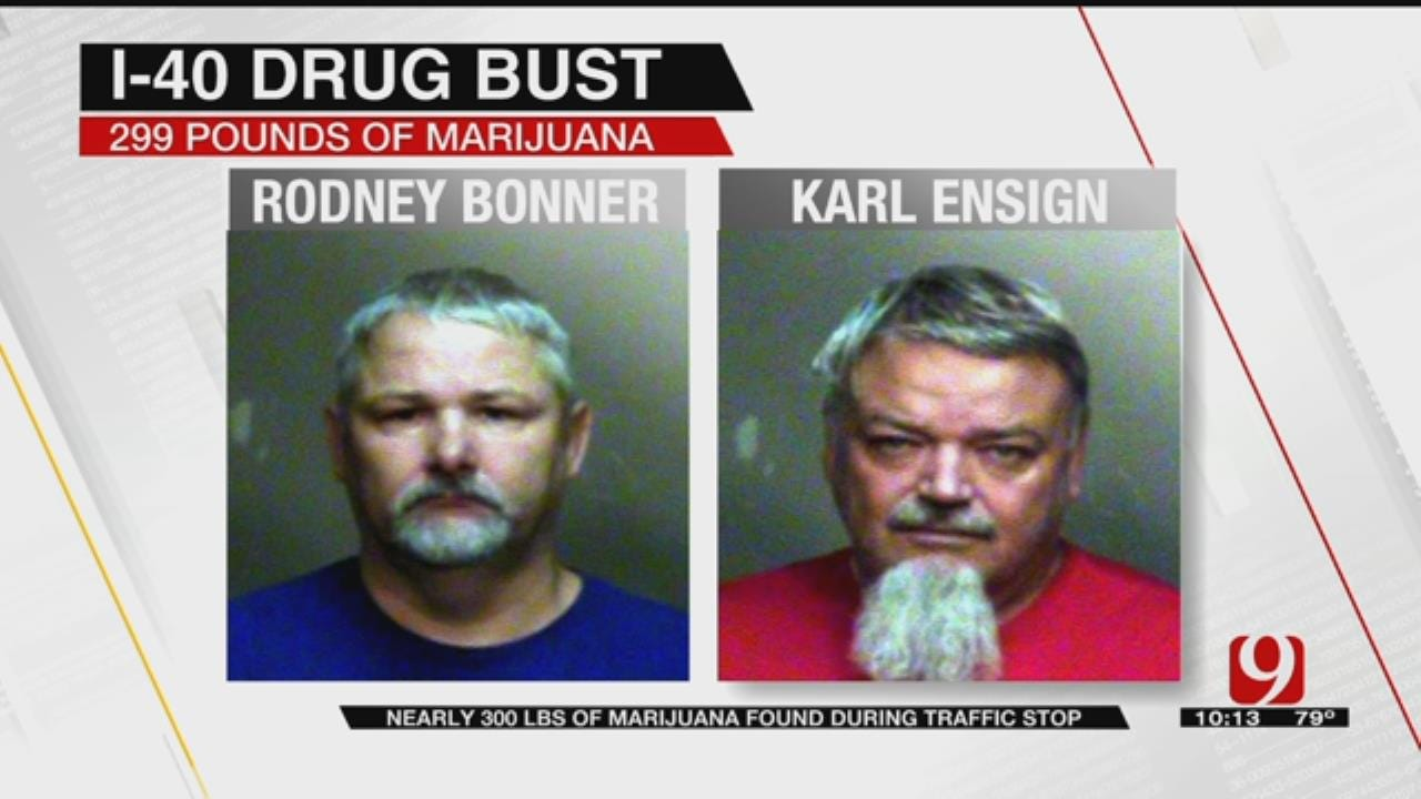 Police Find Almost 300 Pounds Of Marijuana In Bust