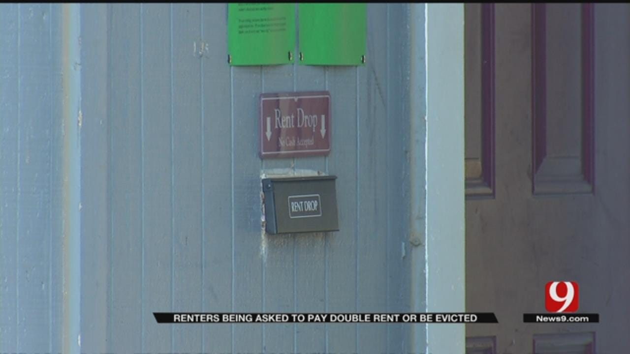 Moore Apartment Complex Threatening To Evict Tenants After Rent Checks Stolen