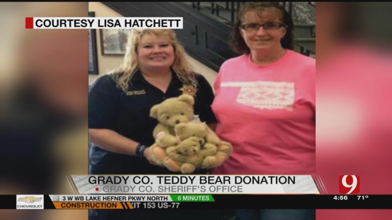 Grady County Sheriff's Office Grateful For Donation Of Teddy Bears