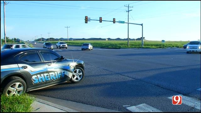 WEB EXTRA: News 9 On Scene Of Deputy-Involved Crash In NW OKC