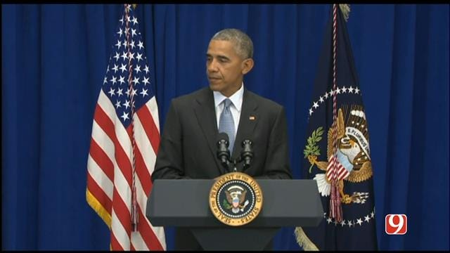 WEB EXTRA: President Obama Announces Arrest Of Suspect In Bombings