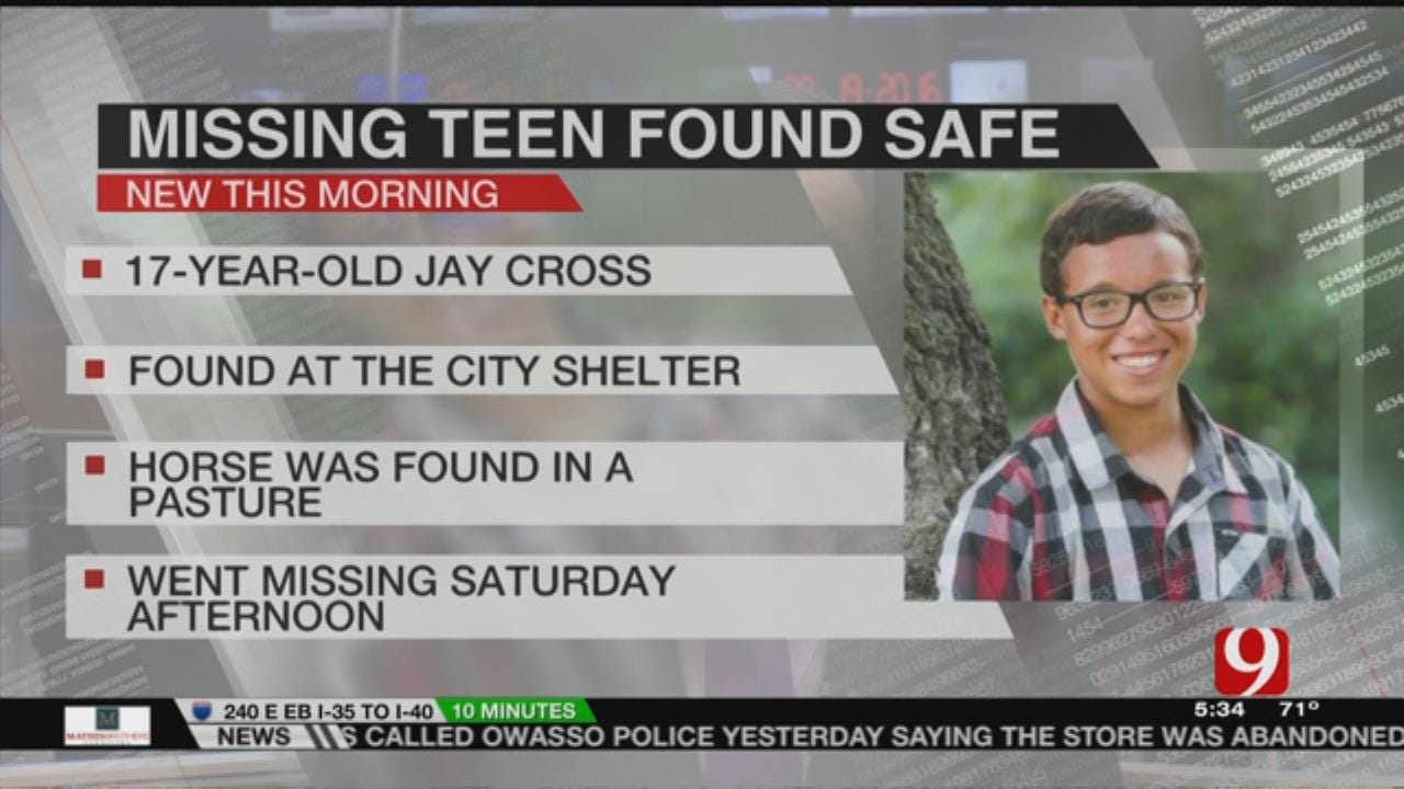 Missing Boy Found Early Monday